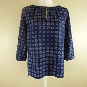 Michael Michael Kors 3/4 Sleeve Blouse size Small